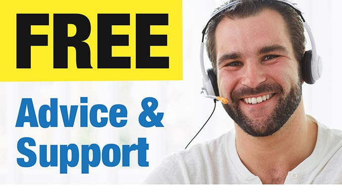 Free Advice & Support