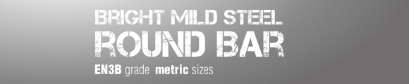 EN3B Metric sizes Bright Mild Steel Round Bar