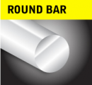 3m lengths Metric Sizes EN3B Round Bar