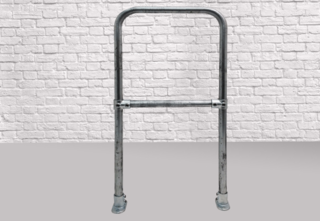 Bolt Fixed Bike Stand - Security Bar