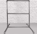 Single Freestanding Clothing Rail Kit