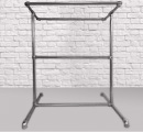 Double Freestanding Clothing Rail Kit