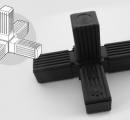 4 Way Tube Connector (option 1)