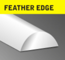 Feather Edge Convex Steel Bar