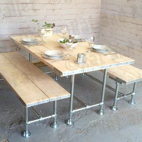 Tube Clamp Table & Bench Set
