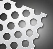 Galvanised Perforated Sheet