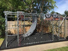 Ninja Warrior style obstacle course