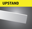 Stainless Steel Upstands