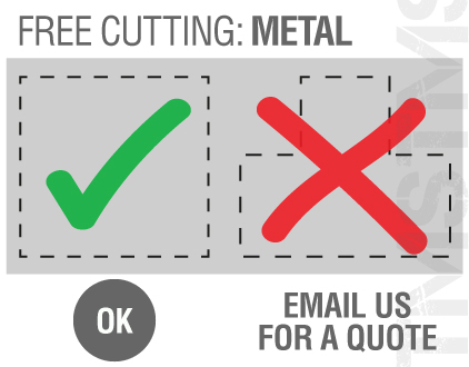 What's included in free cutting